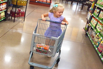Supermarket Shopping Carts Suitable For Kids
