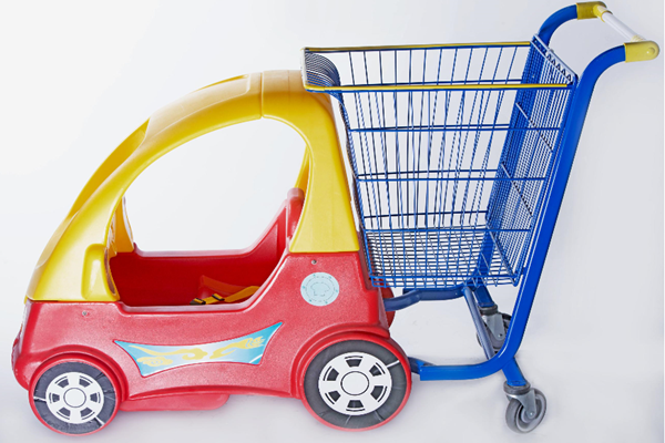 Precautions for Using Children's Shopping Cart