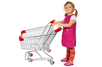 Kid shopping carts design has been a new challenge for the manufacturer