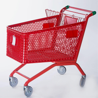 Plastic Shopping Cart (YRD-SA180)