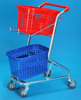 Supermarket Shopping Trolleys with Two baskets (YRD-J6)