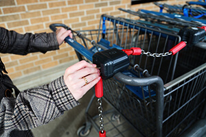 How to Avoid Shopping Trolley Being Stolen and Abandoned?