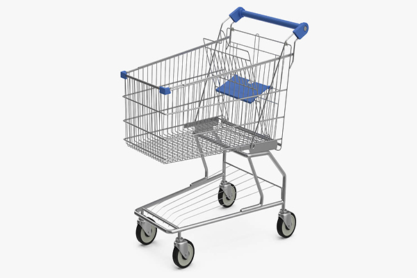 How do parents choose a good shopping cart for children?